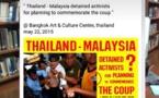 Thaïlande: Répression de la liberté de parole