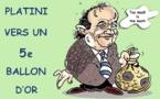 Les ballons d'or de Platini