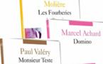Molière, Marcel Achard et Paul Valéry dans le nouvel arrivage des Éditions Montparnasse