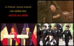 Les actualités en 3 vidéos du 14 juillet 2015