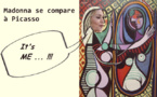 Madonna se reconnait en Picasso