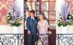 Mariage en rose à Monaco