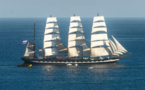 Le Kruzenstern à Monaco