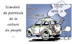 Scandale de particule de la voiture du peuple