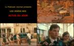Les actualités en 3 vidéos du 6 novembre 2015