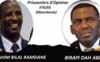 Mauritanie: deux prisonniers d'opinion détenus depuis un an