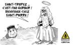 L'adjudant de Saint-Tropez salue d'en-haut