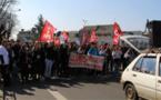 Le Mans: les jeunes dans la rue contre la loi travail
