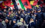 Bruxelles: arrestations massives d'antiracistes en marge d'une manifestation islamophobe