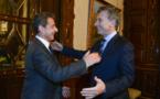 Nicolas Sarkozy a rencontré le président argentin