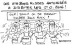 Athlètes russes et le dopage