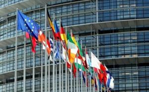 Le Parlement européen de Bruxelles où 751 députés, élus au suffrage universel direct, représentent les citoyens © touteleurope.eu