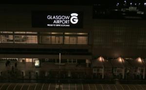 L'aéroport de Glasgow - Capture Ecran