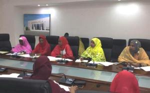 Vue partielle de la réunion de lancement du Caucus des femmes parlementaires (C) Assemblée nationale de Djibouti