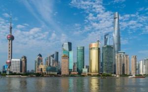 Centre ville de Shanghaï, capitale économique chinoise, ayant connu une urbanisation rapide entre 1987 et 2013. (c)Pixabay License