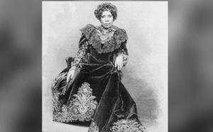 En 1897, la reine Ramavalona III qui régnait depuis 1883 fut contrainte à l'exil à Alger où elle devait mourir en 1917, âgée de 55 ans (c) DR