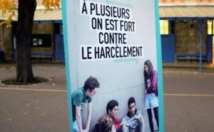 A l'occasion de la journée nationale contre le harcèlement scolaire. Geoffroy Van Der Hasselt / AFP