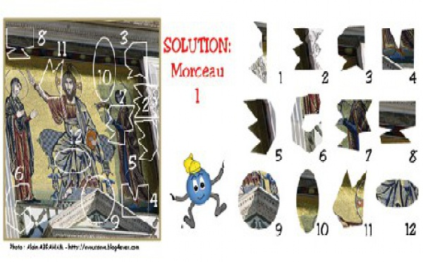 SOLUTION JEU du 29 septembre 2008