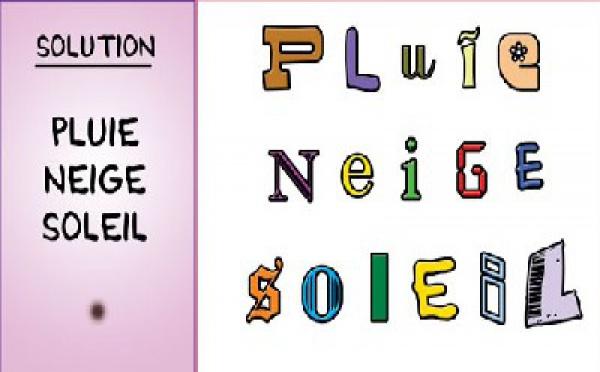 SOLUTION JEU du 4octobre 2008