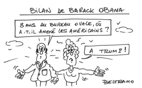 Obama quitte le bureau ovale