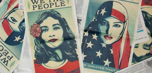 L'artiste Obey Giant en réaction à l'élection de Trump