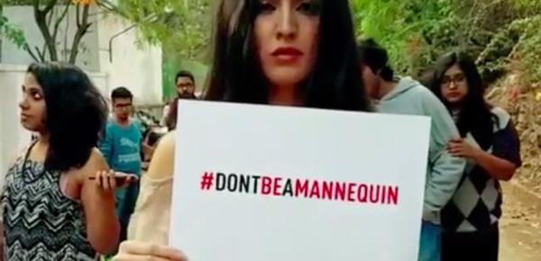 Le mannequin challenge détourné pour appeler contre la violence faite aux femmes