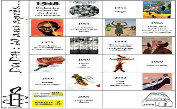 10 décembre 2008: La Déclaration universelle des droits de l'Homme a 60 ans