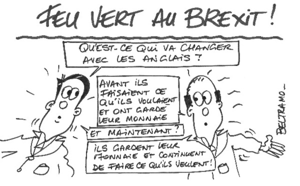 Feu vert au Brexit