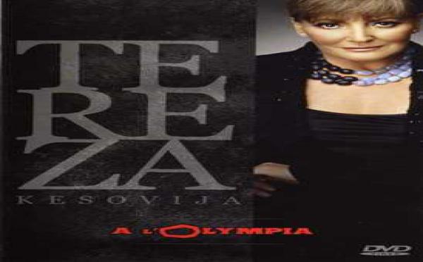 DVD - TEREZA Késovija à l'Olympia