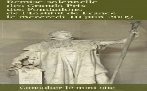 Les Grands Prix de l'Institut de France 2009