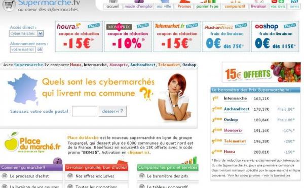 SOCIETE: Les courses en ligne moins chères que les grandes surfaces?