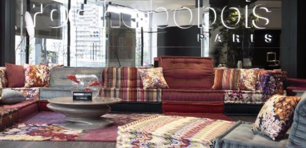 Roche Bobois: le design français s'implante au Japon