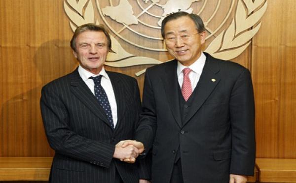ONU: Bernard Kouchner défend la proposition française