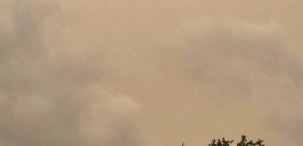 Quand le ciel devient jaune…