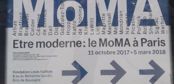 Le MoMa à la Fondation Louis Vuitton