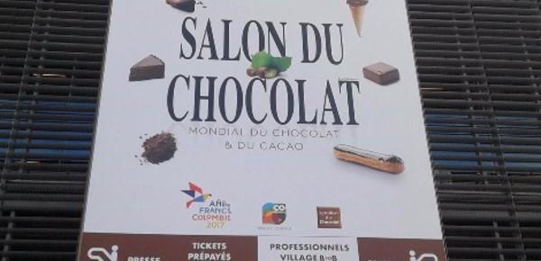 Salon du chocolat 2017: Les chocolatiers français à l'honneur