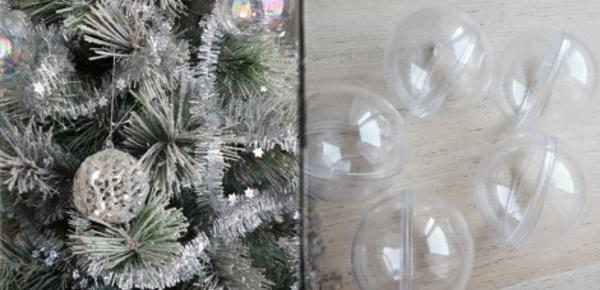 Les boules de Noël: décoration et dégustation