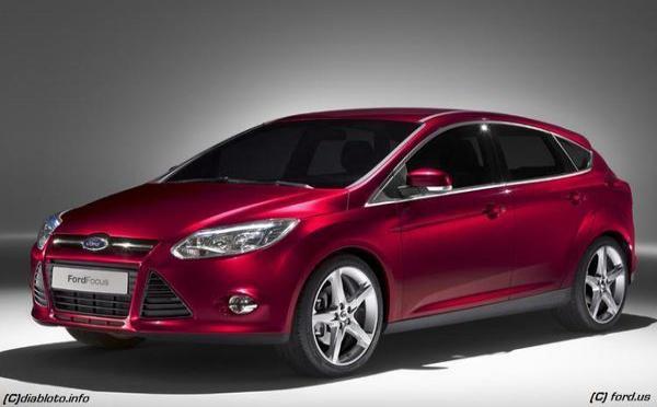Nouvelle Ford Focus présentée à Detroit