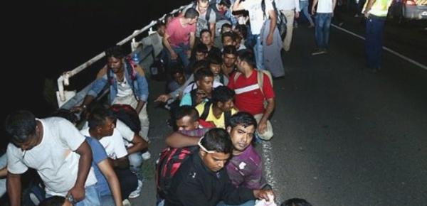Les migrants d'aujourd'hui