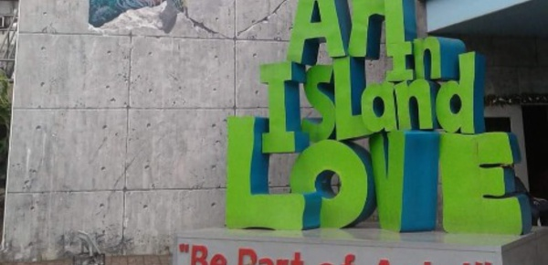 Journal de Manille: l'art en trois dimensions