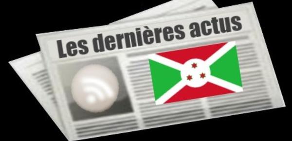 Les dernières actus de Burundi