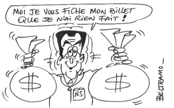 Les billets de Sarkozy