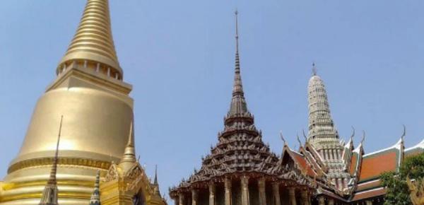 Le Grand Palais et la richesse de la Thailande