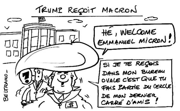 Macron chez Trump