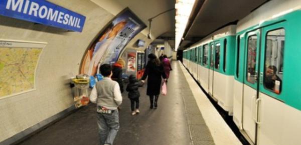 Le métro parisien en proie à une pollution excessive