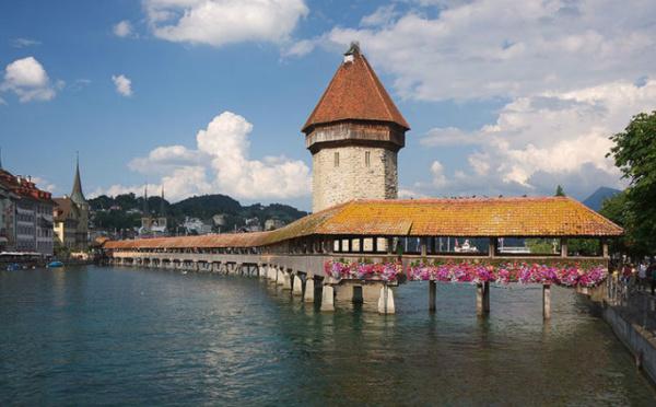 L'IMAGE DU JOUR: Le pont Kapellbrücke