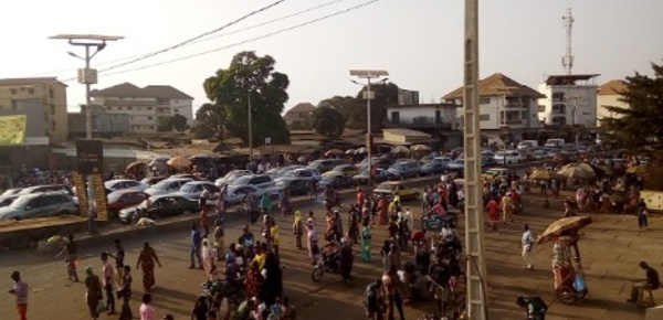 La circulation à Conakry