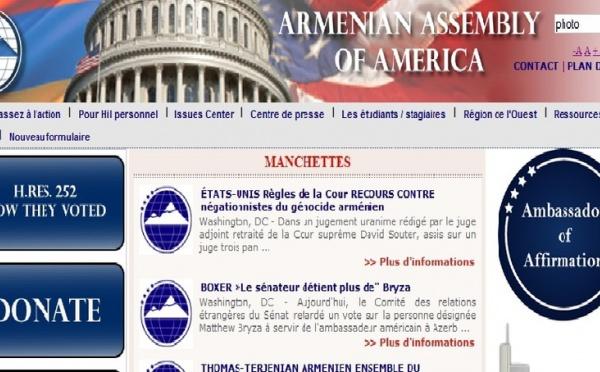 Le génocide arménien à la Chambre des représentants
