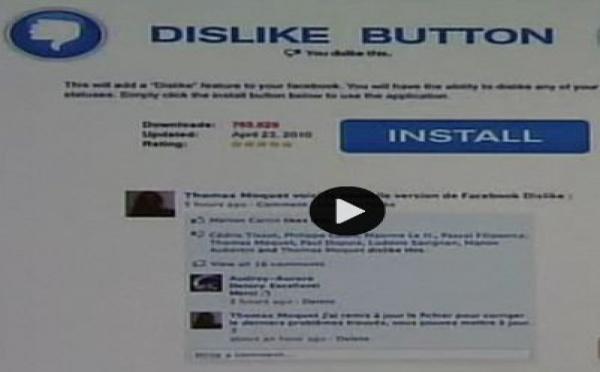 Meilleur article de la semaine passée - Réseaux: Attention au faux bouton Facebook 'Je n'aime pas', c'est une arnaque