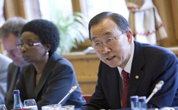 ONU: Résumé de la tournée européenne et africaine de Ban Ki-moon